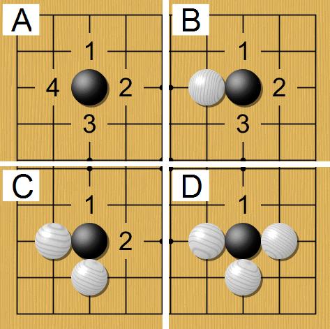 luật chơi cờ vây