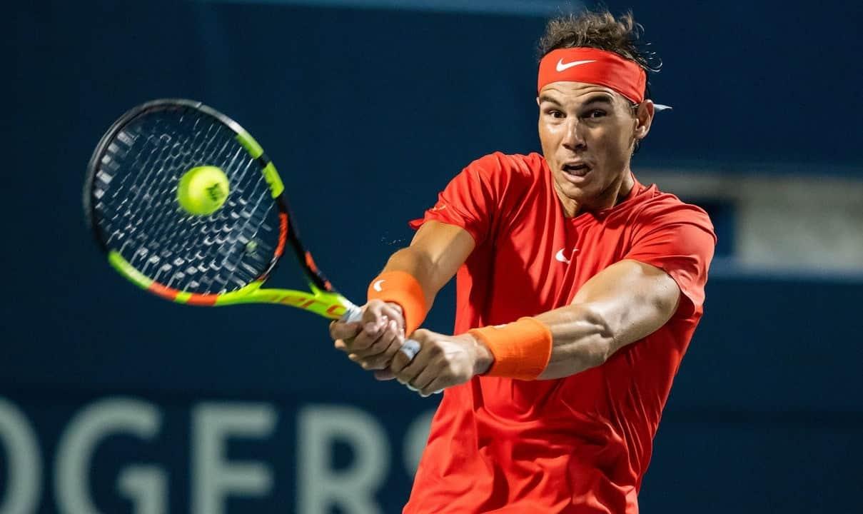 luật giao bóng và đổ bóng tennis quần vợt