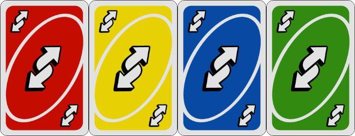 Uno bài đổi chiều