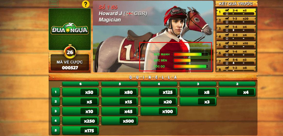 kinh nghiệm chơi đua ngựa ăn xu