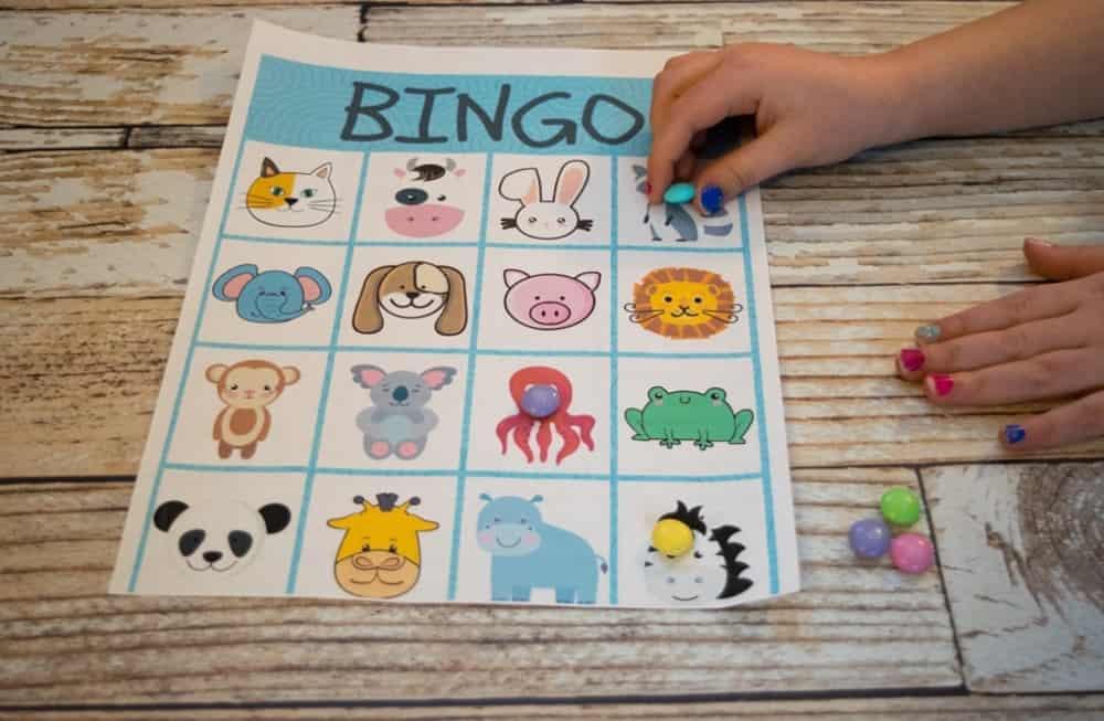 ứng dụng bingo cho trẻ em