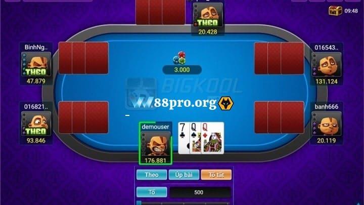 chơi liêng online tại w88