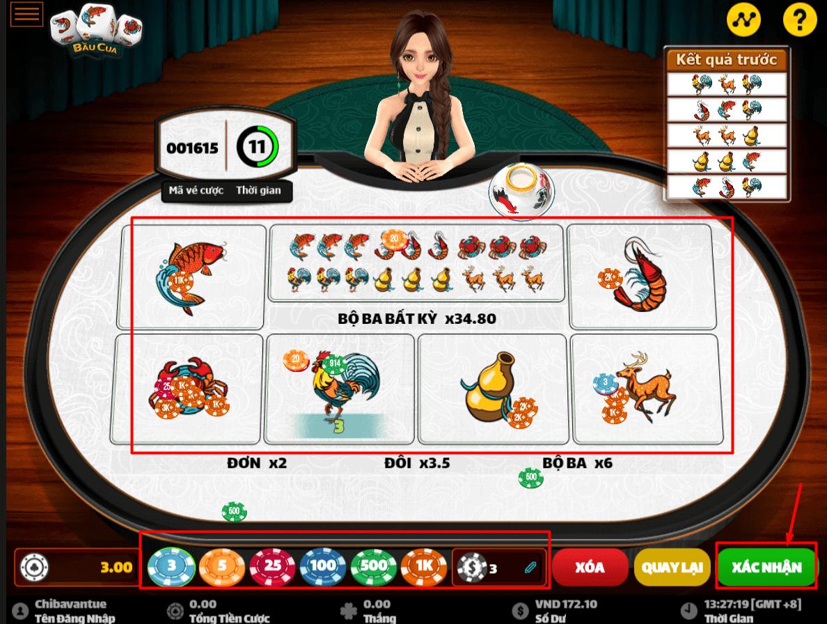 Cách chơi Bầu Cua Tôm Cá online luôn thắng tại W88
