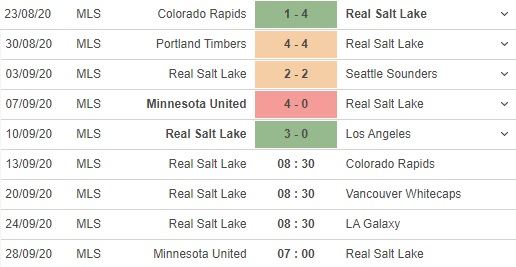 soi kèo real salt lake vs colorado