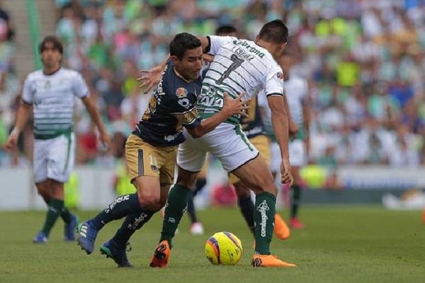Soi kèo Santos Laguna vs Pumas UNAM, 09h06 ngày 10/09, VĐQG Mexico