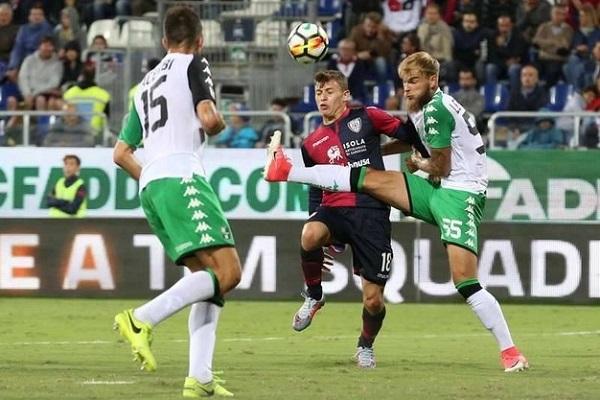 Soi kèo Sassuolo vs Cagliari, 23h00 ngày 20/09, Serie A