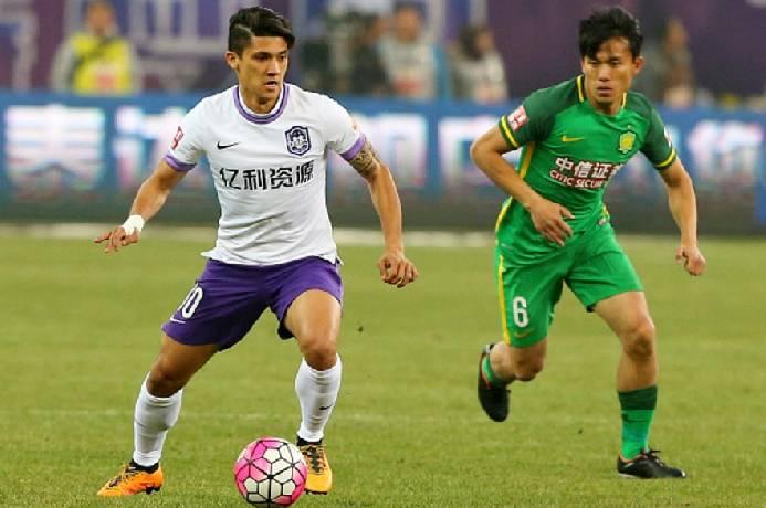 Soi kèo Beijing Guoan vs Tianjin Teda, 17h00 ngày 10/09, VĐQG Trung Quốc