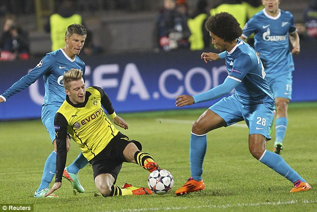 Link xem trực tiếp Dortmund vs Zenit 03h00 ngày 29/10