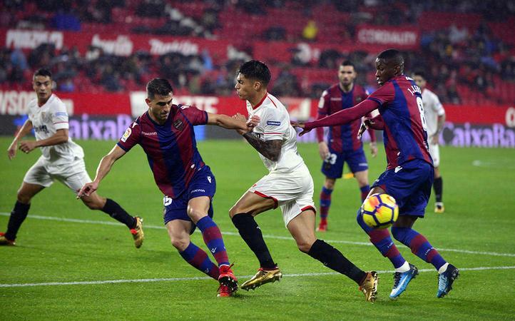 SoikèoSevilla vs Levante, 00h00ngày2/10, La Liga