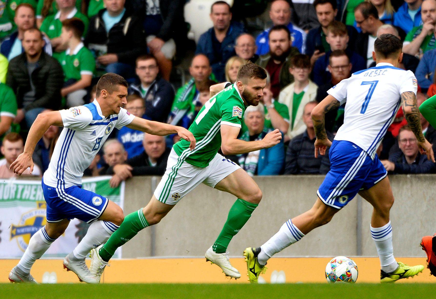 Soi kèo Bosnia vs Bắc Ireland, 01h45 ngày 9/10, Vòng loại Euro 2021