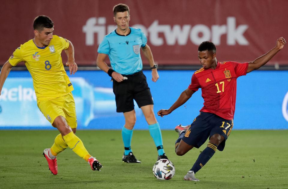 Link xem trực tiếp Ukraina vs Tây Ban Nha 01h45 ngày 14/10