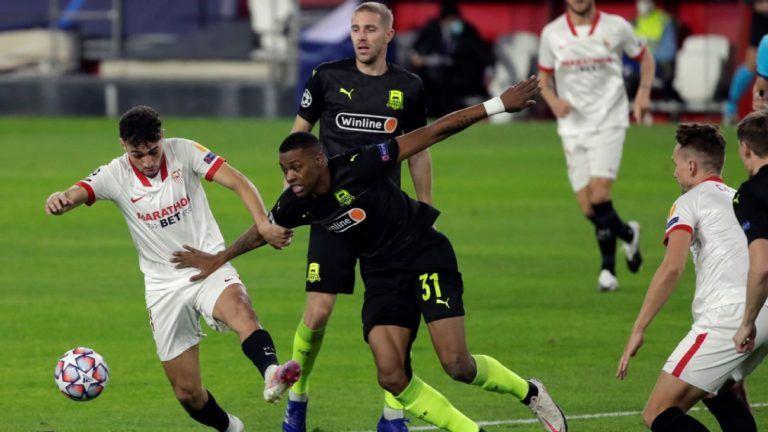 Soi kèo Krasnodar vs Sevilla, 00h55 ngày 25/11, Cúp C1 châu Âu