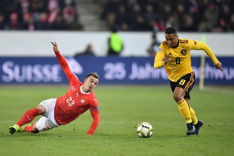 Link xem trực tiếp Bỉ vs Thụy Sỹ 02h45 ngày 12/11
