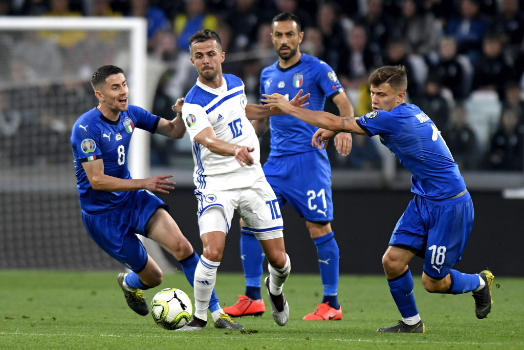 Link xem trực tiếp Bosnia vs Italy 02h45 ngày 19/11
