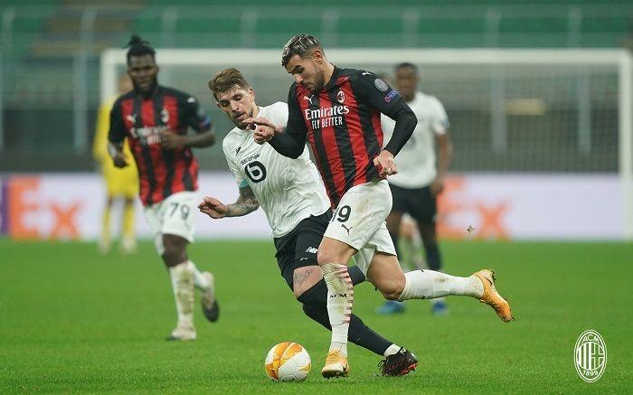 Link xem trực tiếp Lille vs Milan 00h55 ngày 27/11