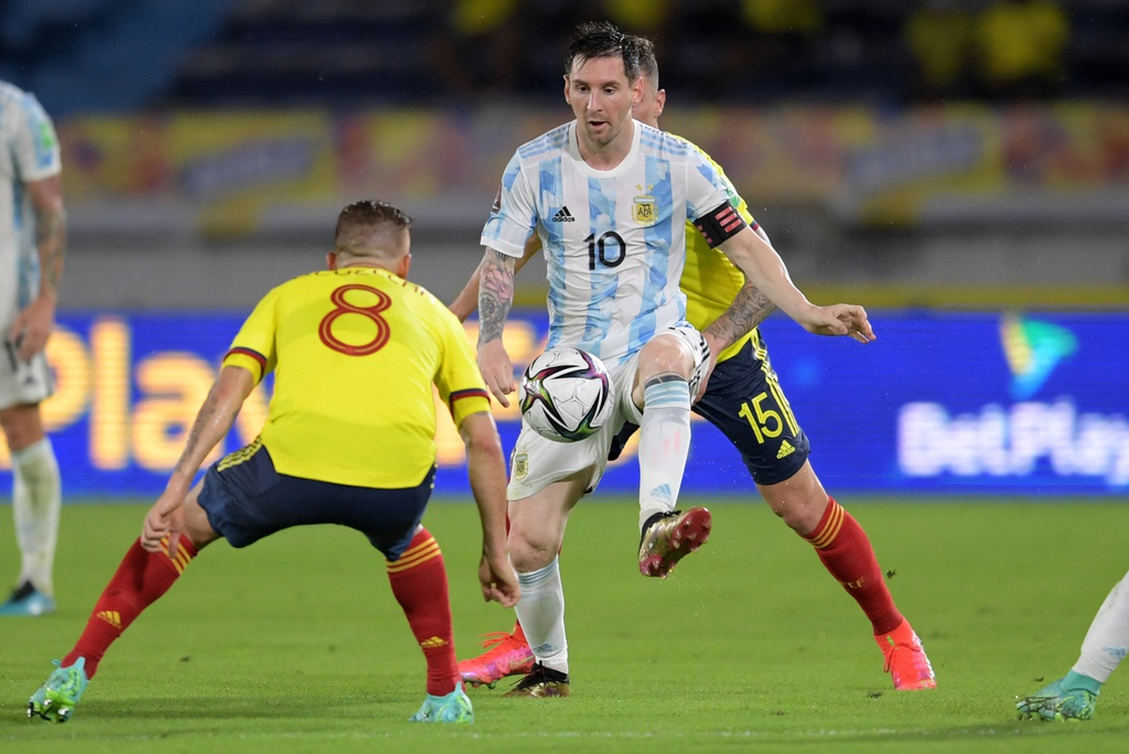 Link xem trực tiếp Argentina vs Colombia 08h00 ngày 7/7